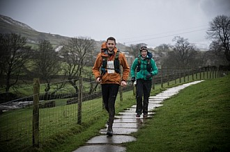 The Spine Race and Challenger Day 2 2016