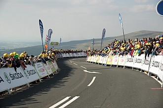 Tour of Britain Cycle Race Crowd