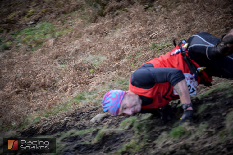 tour of pendle fell runner falling