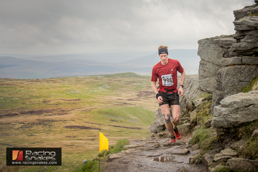 Rick Lightfoot 3 Peaks winner 2014