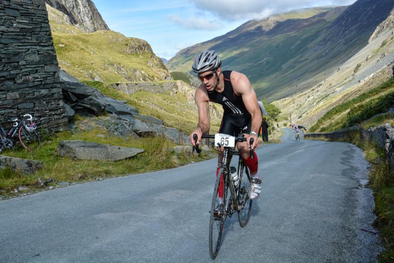Biker Honister Pass