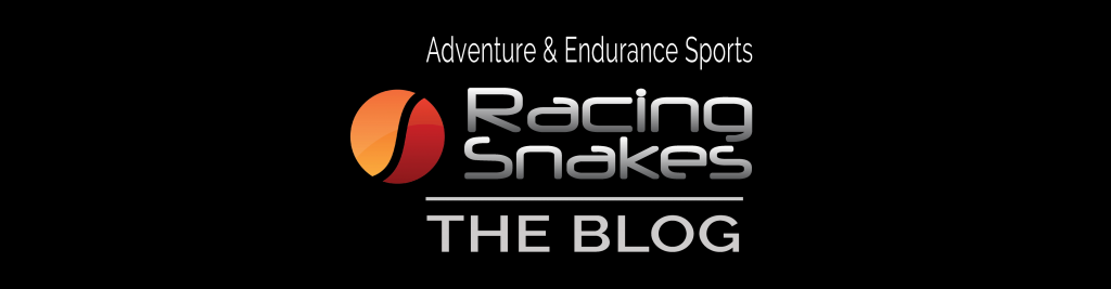 racing snakes blog logo. adventure and endurance sports
